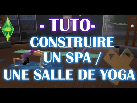 les sims 4 tuto construire un spa ou une salle de yoga avec un e prof next stage. Black Bedroom Furniture Sets. Home Design Ideas