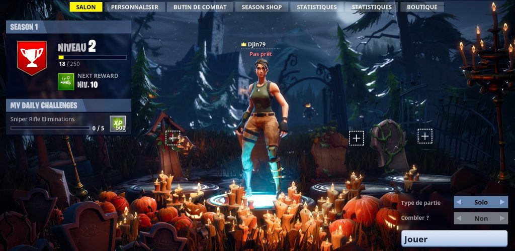 Fortnite Battle Royale La Personnalisation La