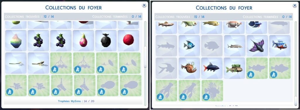 Sims 4 Destination Nature collections