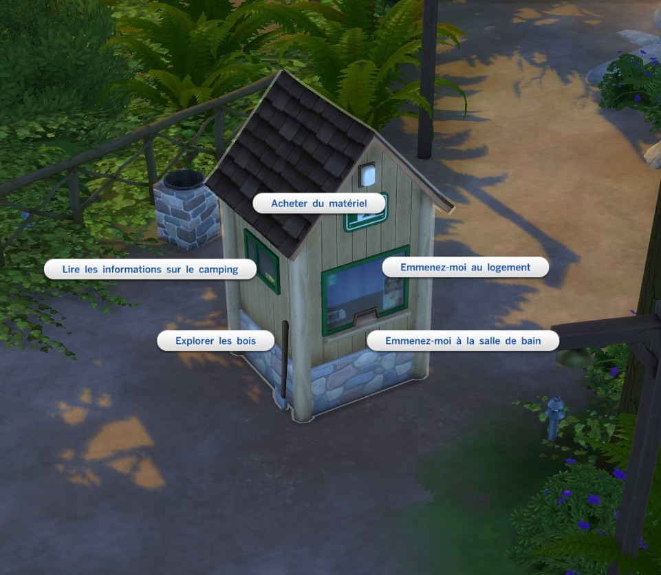 Sims 4 Destination Nature