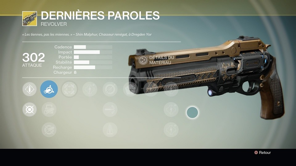 Destiny_xur derniere paroles