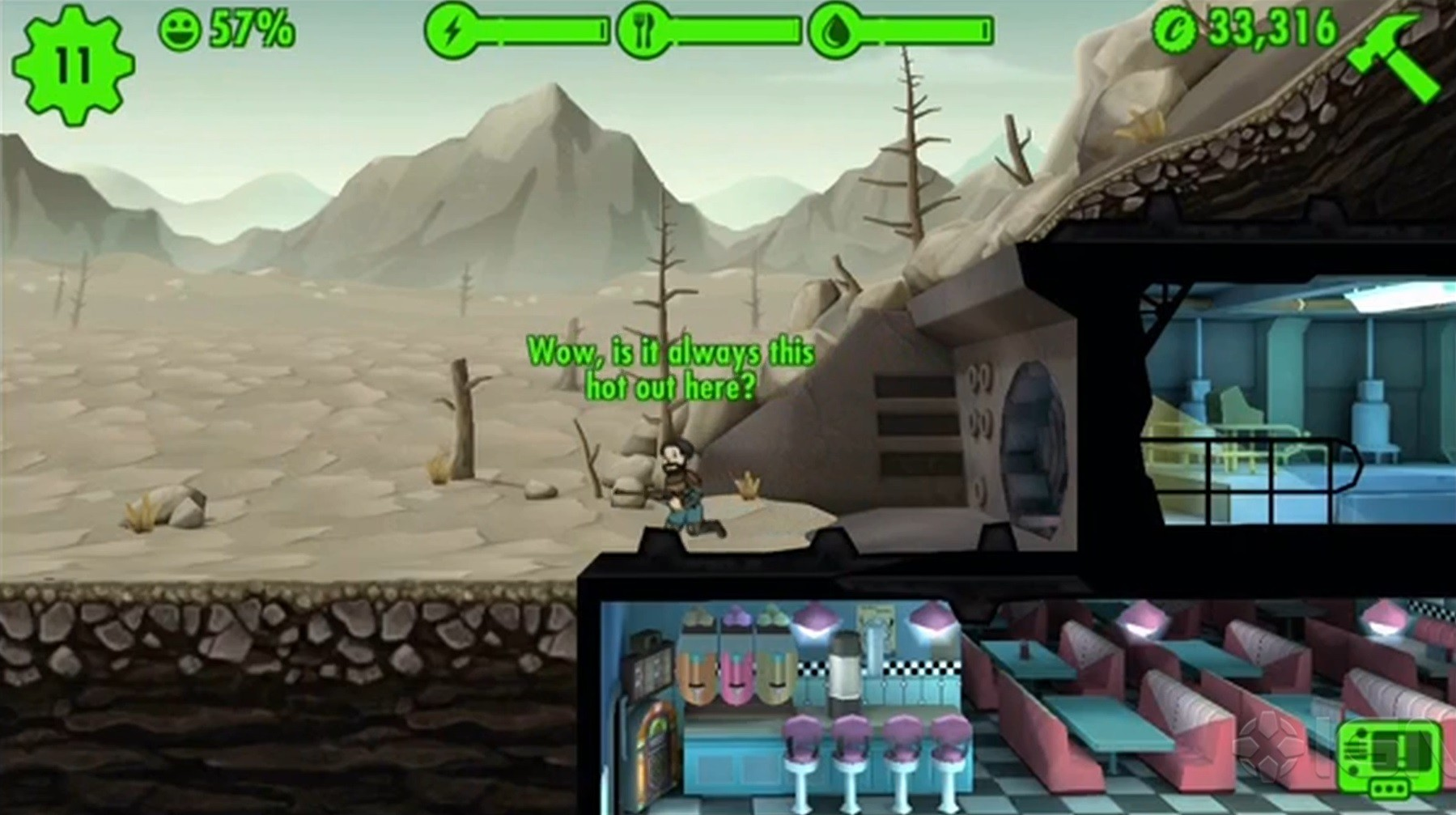 e32015 fallout shelter une appli pour un abri next stage. Black Bedroom Furniture Sets. Home Design Ideas
