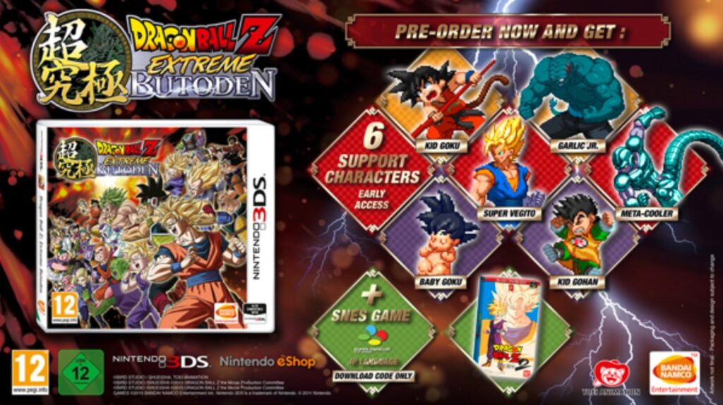 DBZ Extreme Butoden pack 02