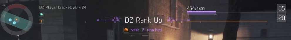 The division DZ level up