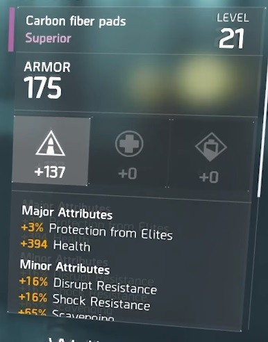 the division armure 21