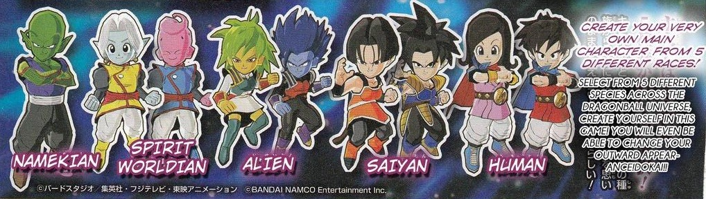 Dragon Ball Fusions- Personnages