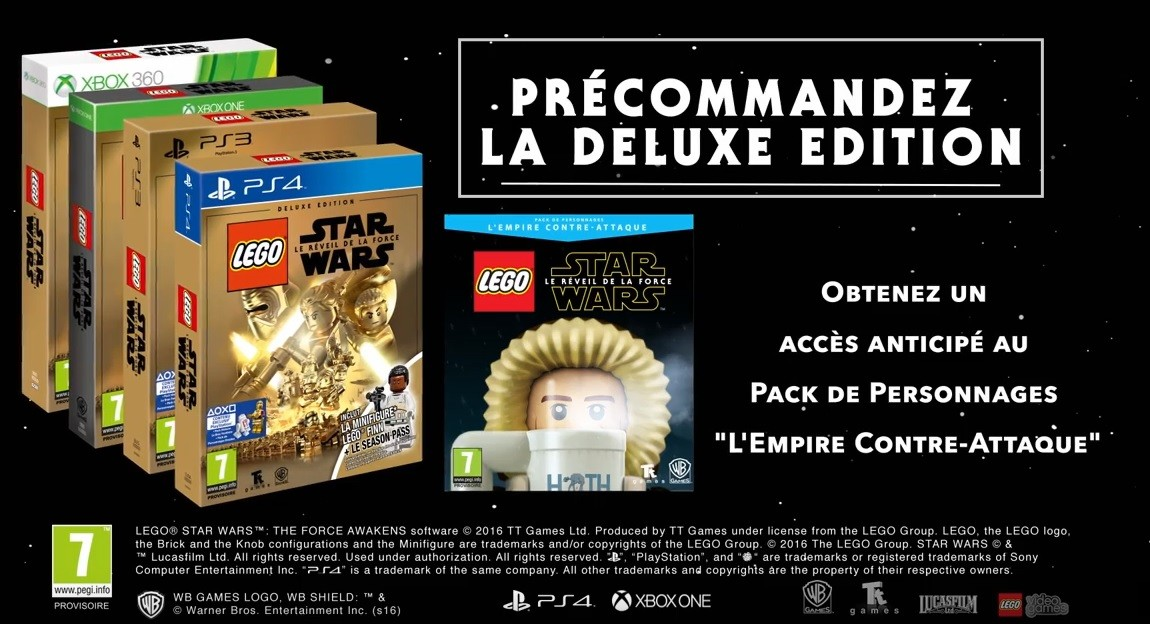 LEGO Star Wars 7 è édition Deluxe