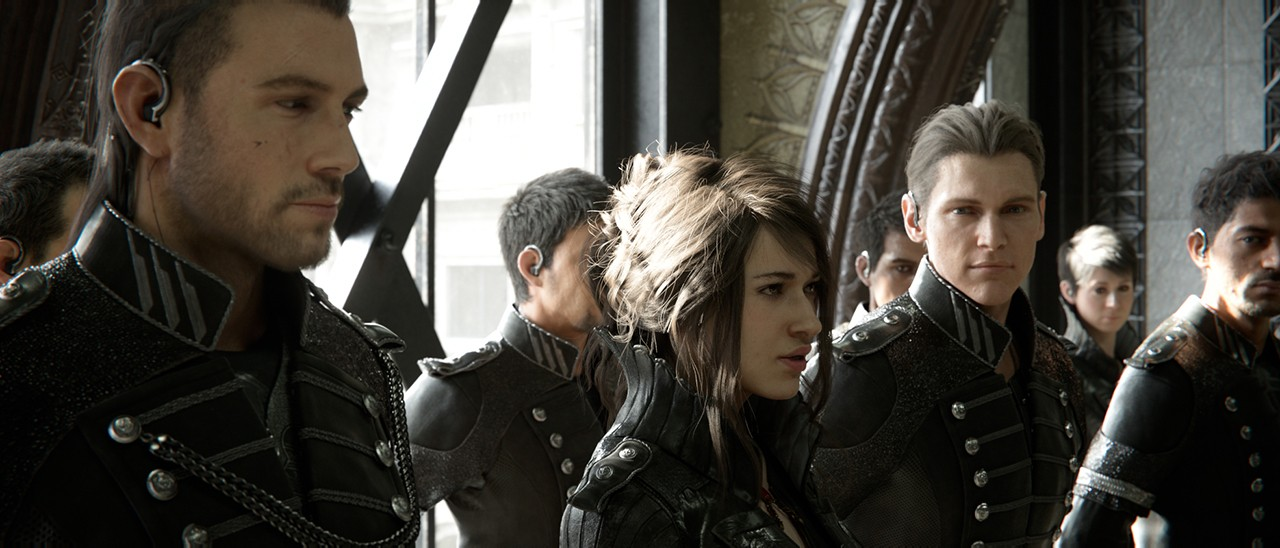 ff xv kingsglaive des extraits du film en japonais next stage. Black Bedroom Furniture Sets. Home Design Ideas