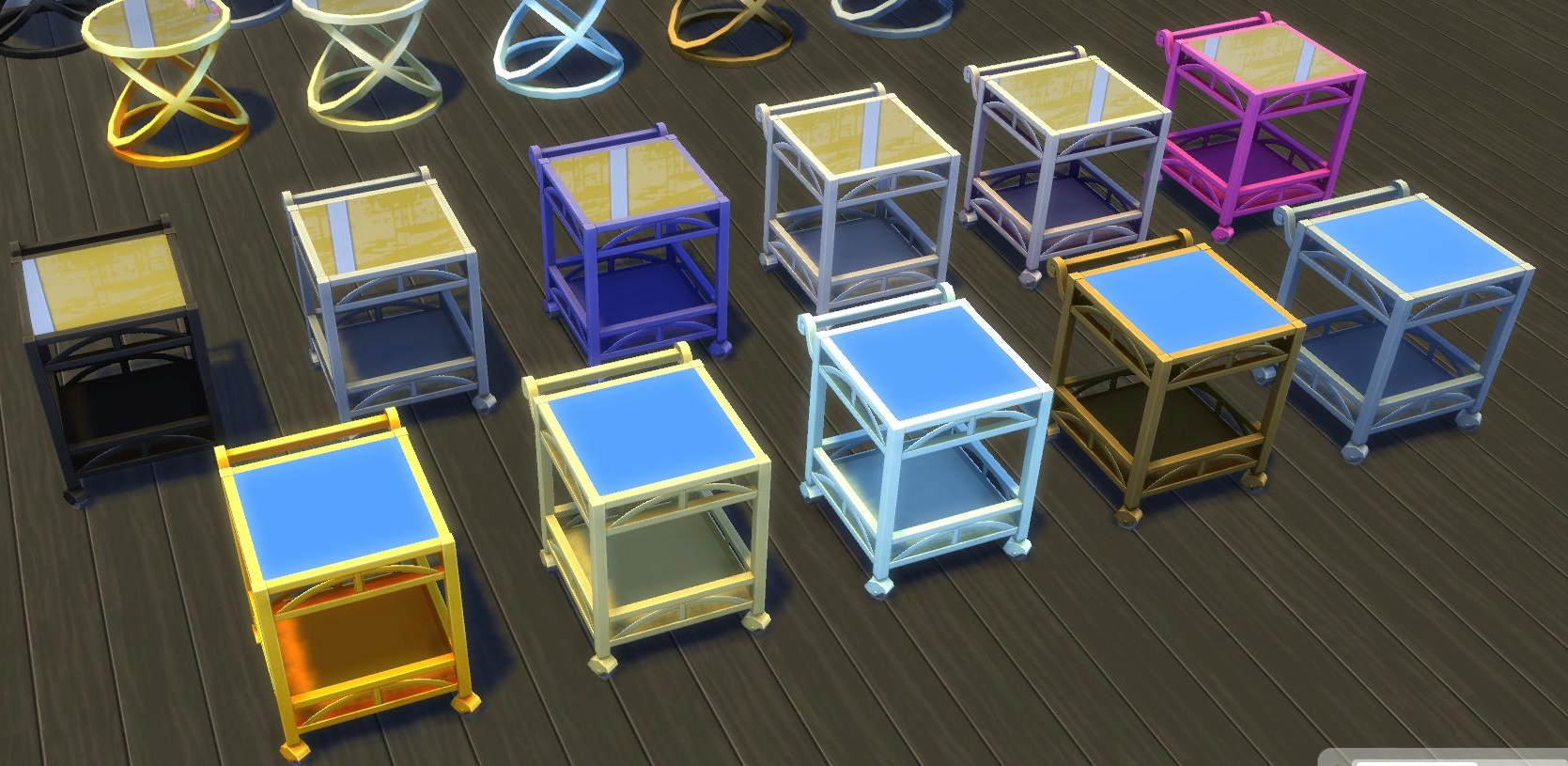 Les Sims 4 - Accessoires Vintage - Mode Achat