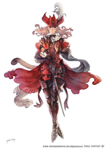 FFXIV - Mage rouge