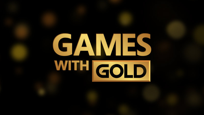 Xbox Games with gold novembre 2018
