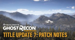 Ghost recon wildlands mise a jour 7 patch 1.09 ps4