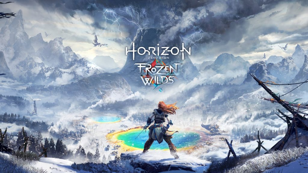 Horizon Zero Dawn : The Frozen Wilds gameplay