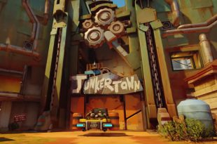 map JunkerTown Overwatch
