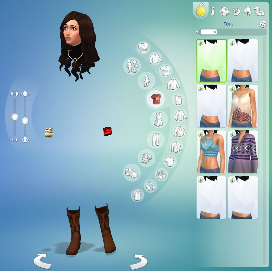 Sims  Cats And Dogs Girl