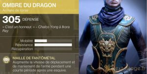 Destiny 2 ombre du dragon