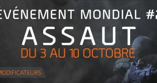 the division evenement mondial assaut