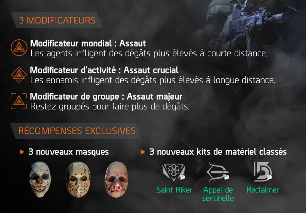 the division evenement global assaut