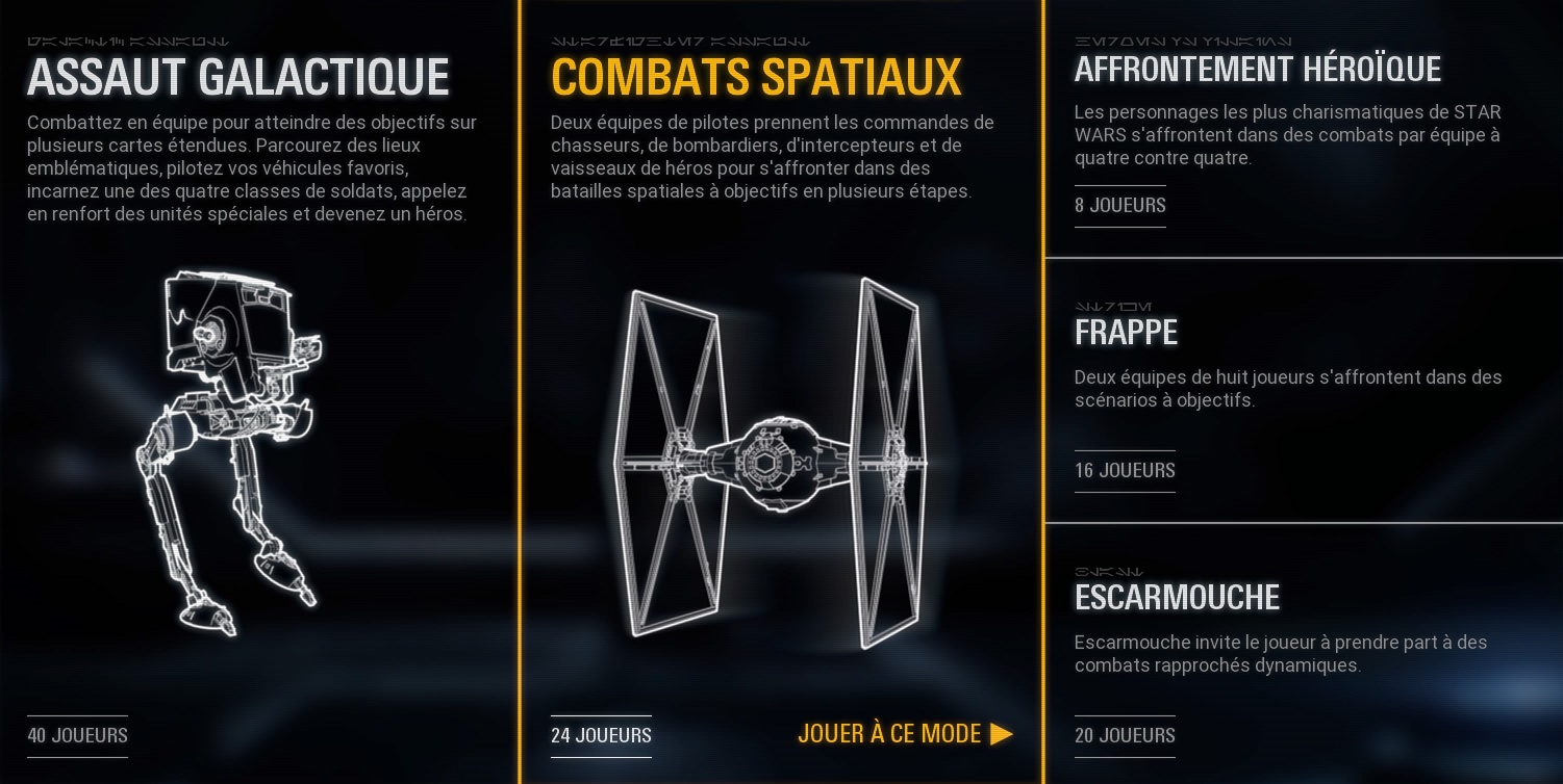 STAR WARS Battlefront 2 mode multi