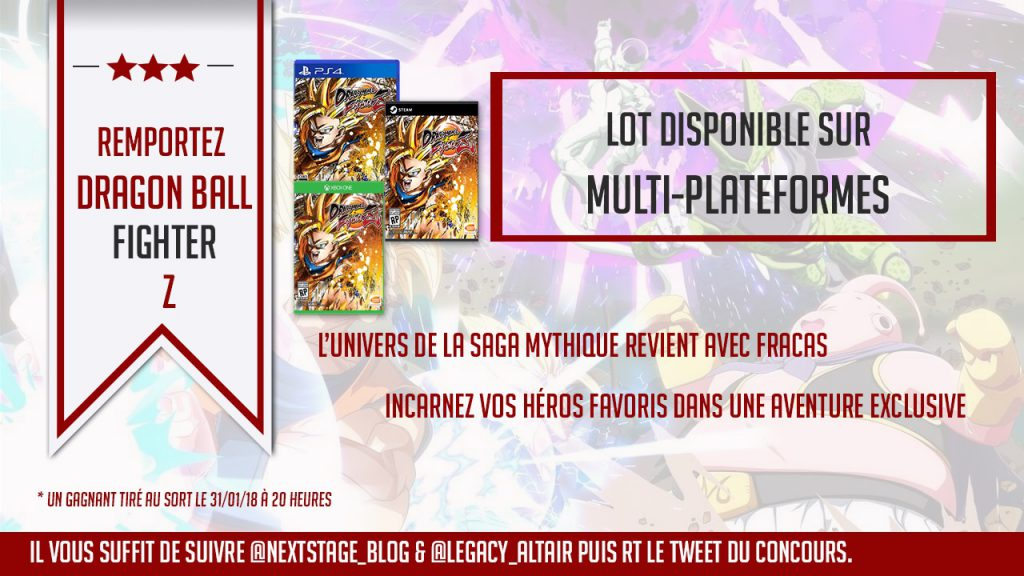 concours dragon ball fighterz