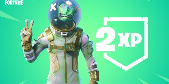 Fortnite : C'est double XP ce week-end