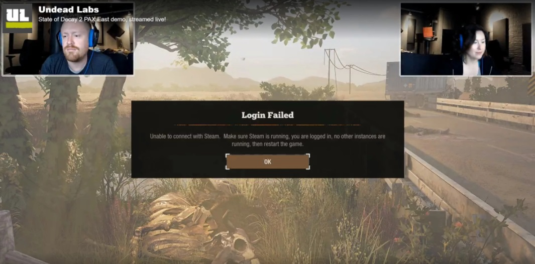 state of decay 2 stream steam