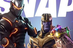 Fortnite avengers infinity thanos