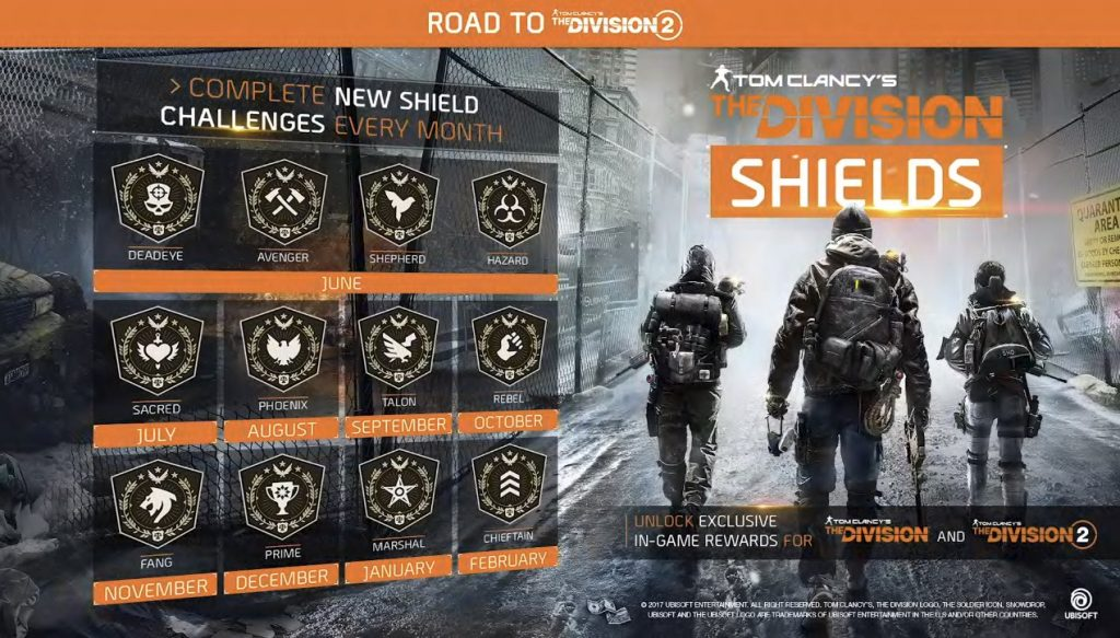 the division shield