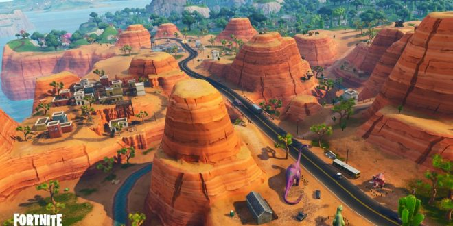 FORTNITE – Saison 5 : Un aperçu des modifications de la carte