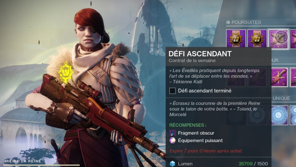 Destiny 2 guide défi ascendant 4