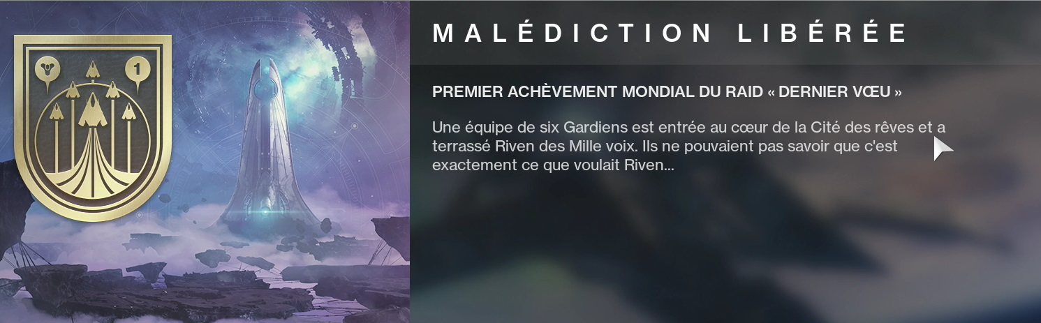 destiny 2 malédiction liberée