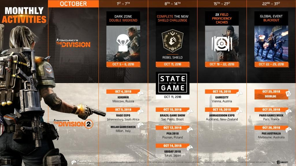the division planning octobre