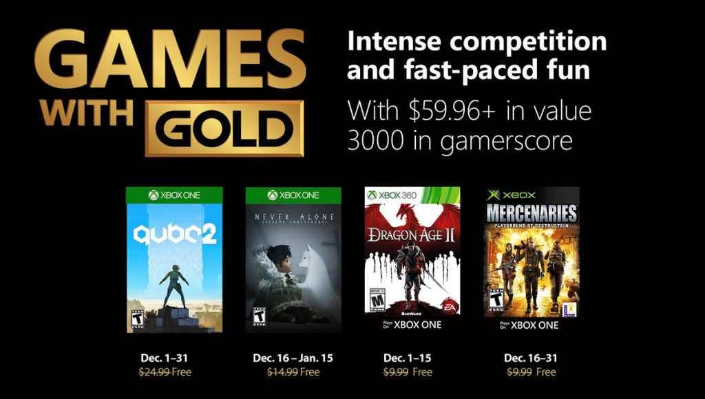 game with gold decembre 2018