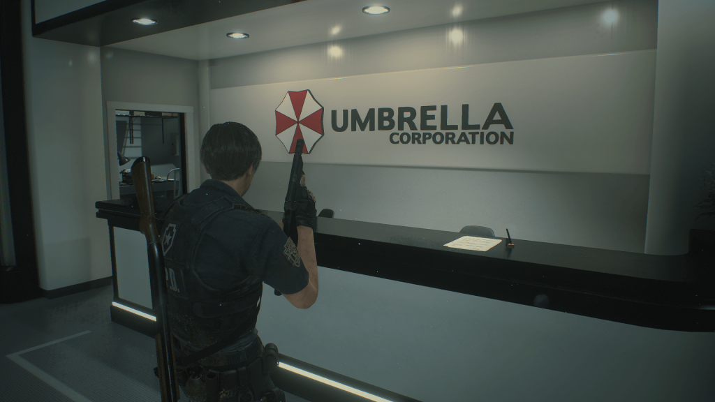 Resident Evil 2 Remake Umbrella