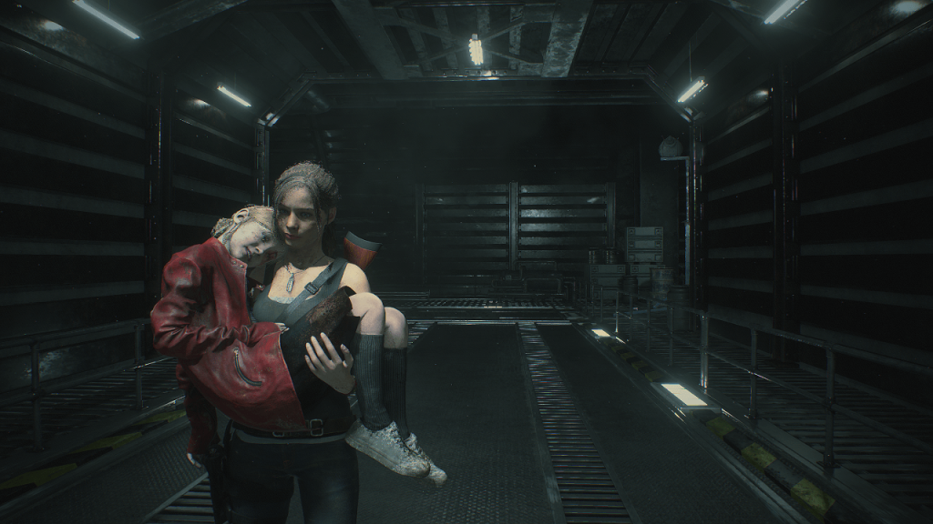 Resident Evil 2 Claire et Sherry
