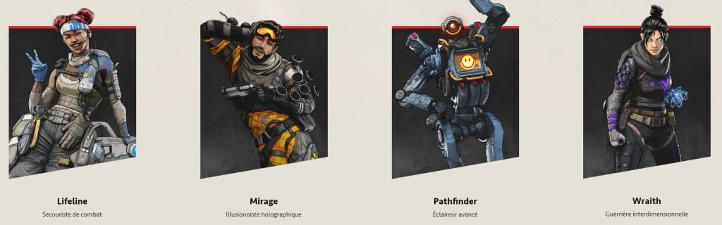 Apex Legends Personnage