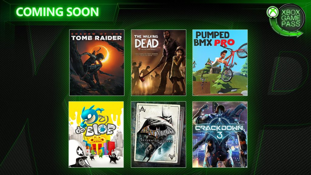 Xbox game pass fevrier 2019