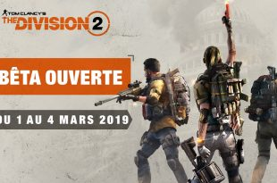 the division 2 beta ouverte