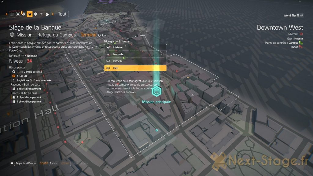 The Division 2 comment obtenir le plan P90 exotique chatterbox