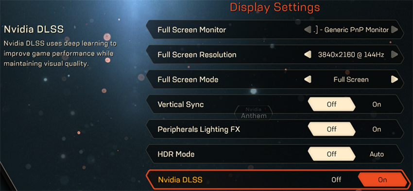anthem-nvidia-dlss-graphics-menu-option