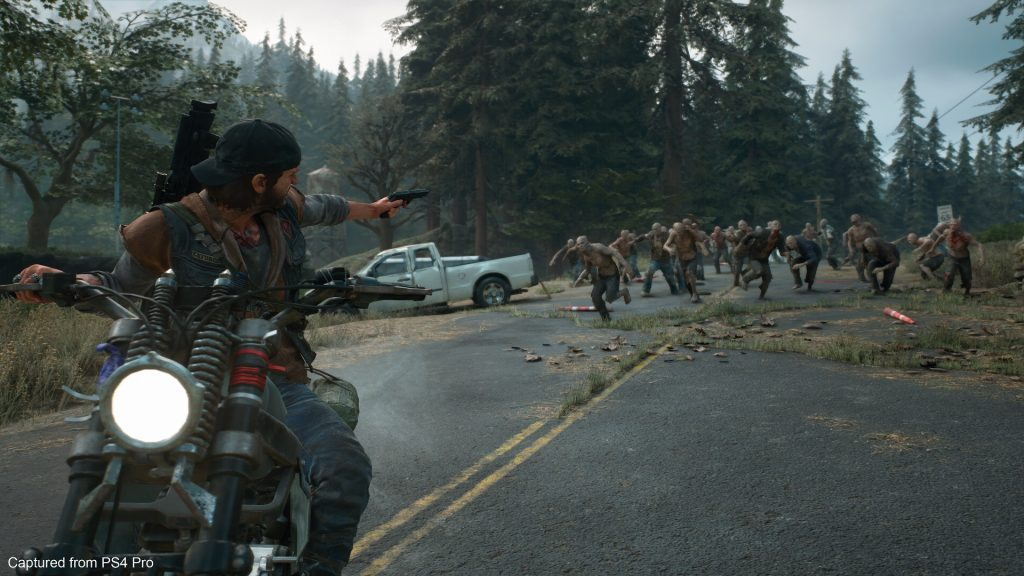 days gone preview moto