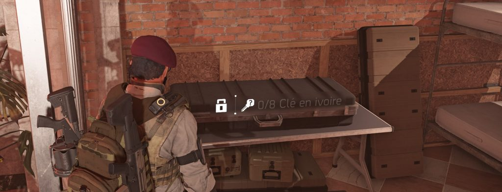 the division 2 clé ivoire
