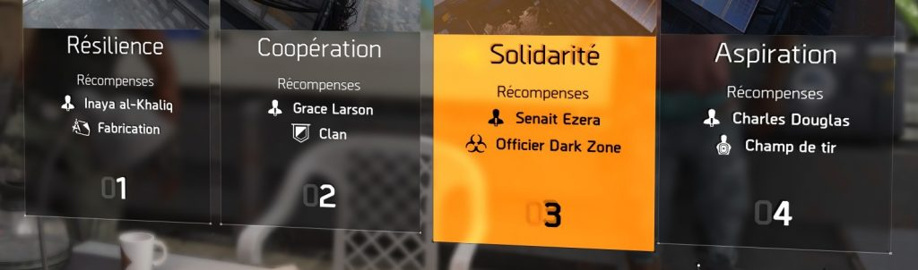 the division 2 débloquer dark zone
