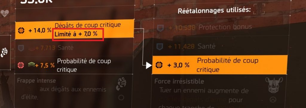 the division 2 guide transfert talent