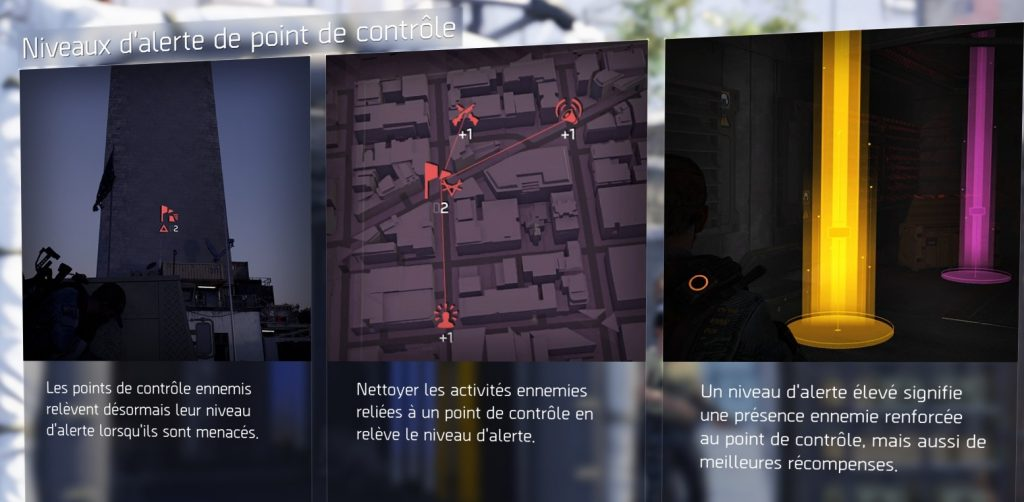 the division 2 point de contrôle alerte