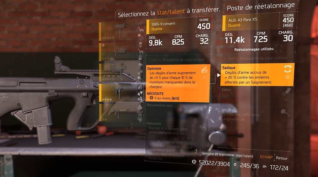 the division transferer talent