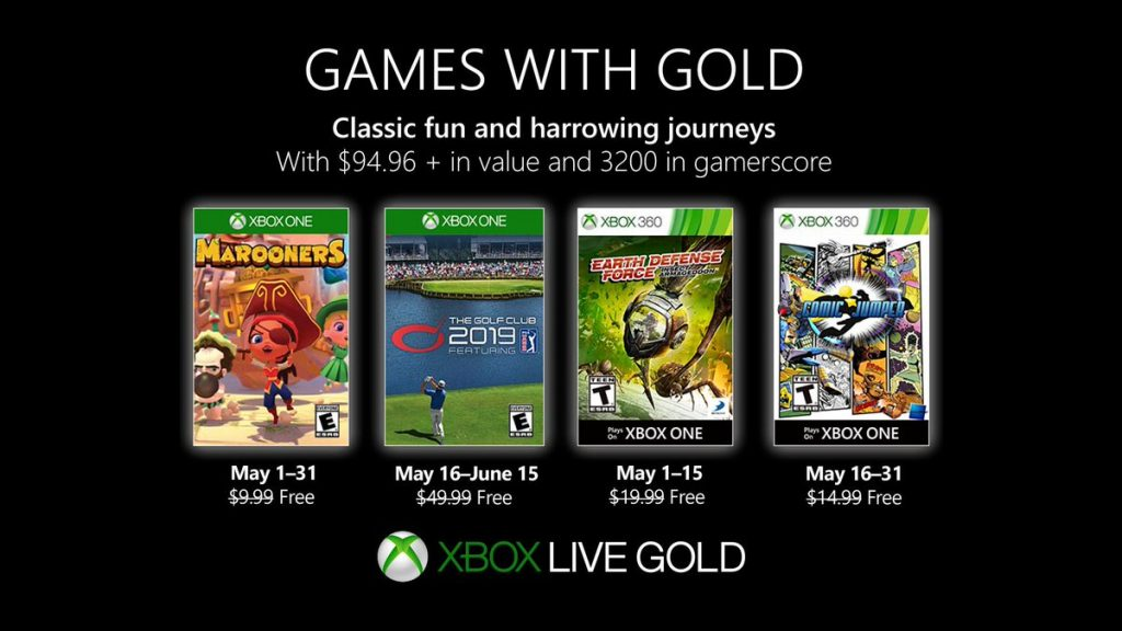 games with gold mai 2019