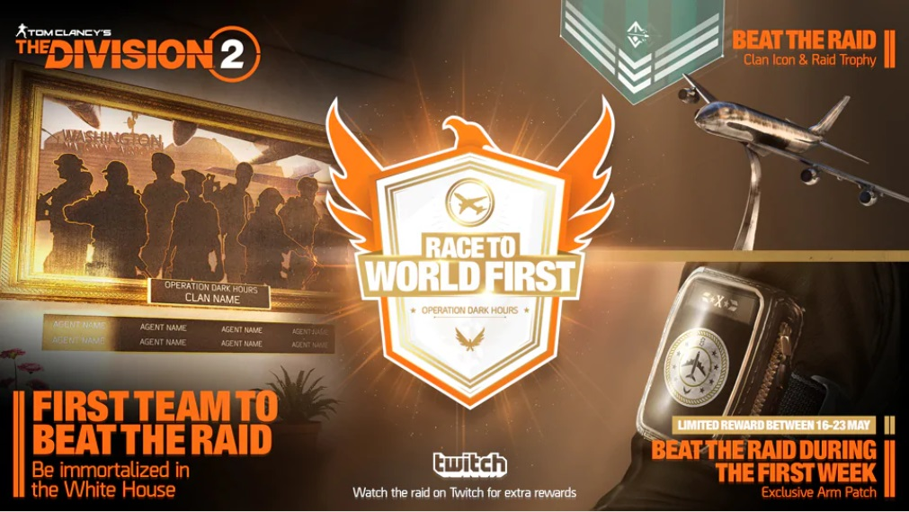 the division 2 world first raid récompenses
