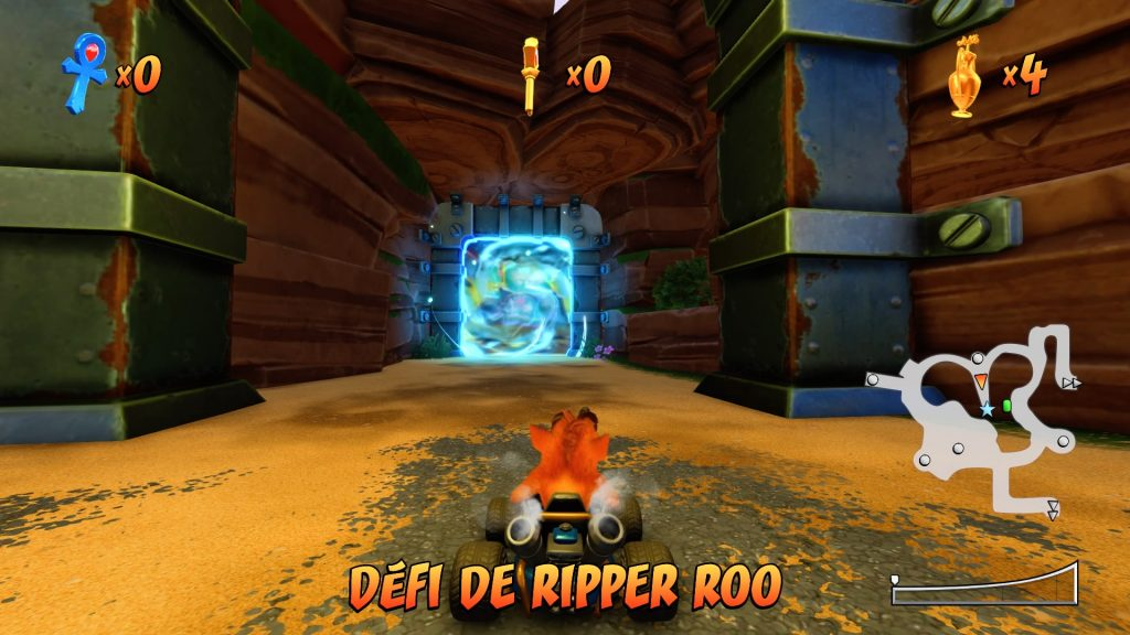 Crash Team Racing Nitro Fueled - Aventure