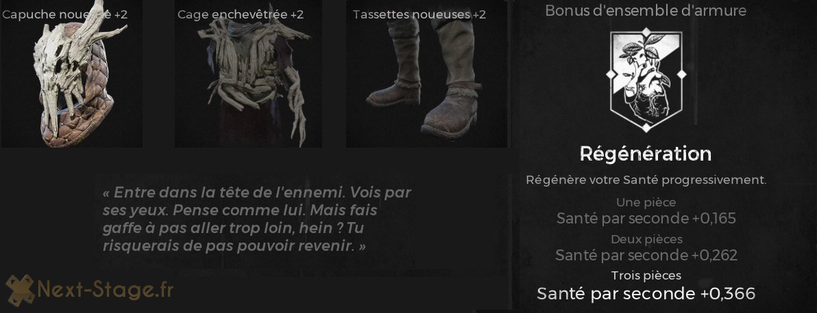 remnant guide armure noueuse